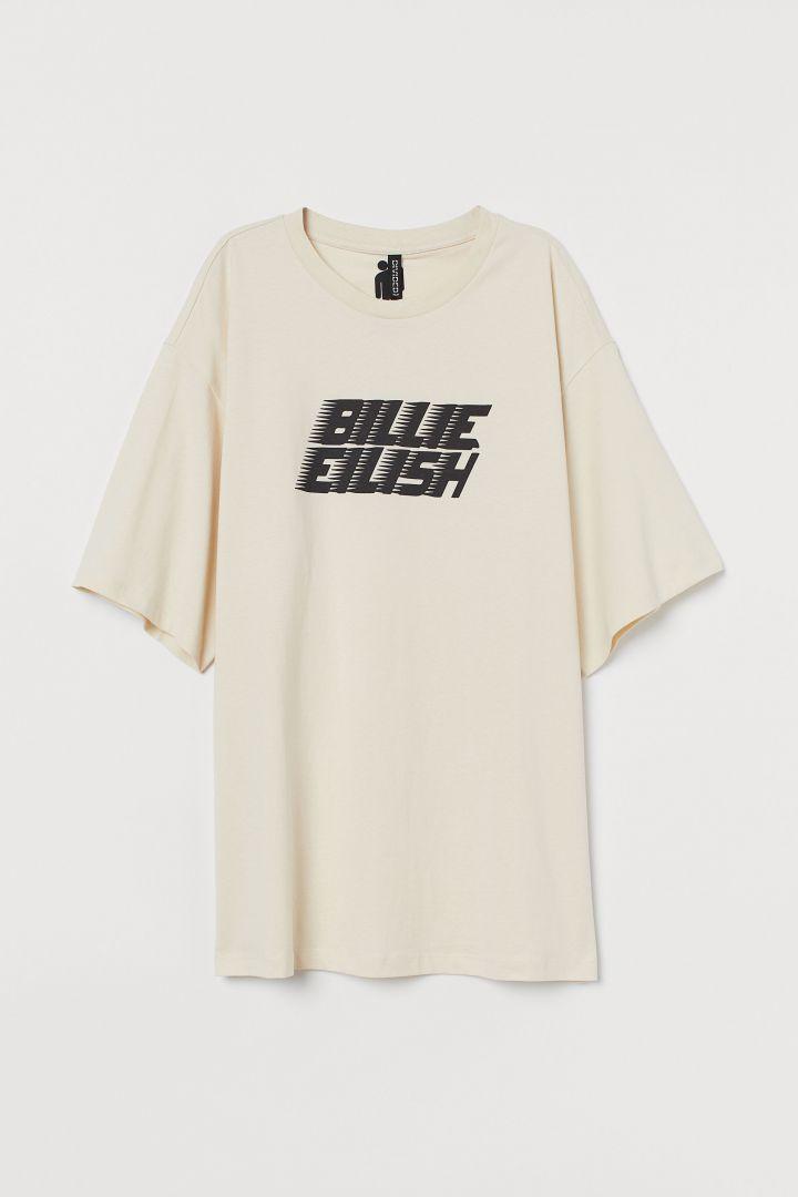 Billie Eilish Print Childrens T Shirt